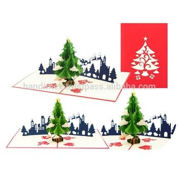 Christmas Pop Up Cards.Snowflakes Christmas Pop Up Card And 3d Xmas Tree Handmade Greeting Card Buy Christmas Pop Up Card 3d Xmas Tree Card Snowflakes Pop Up Card Product