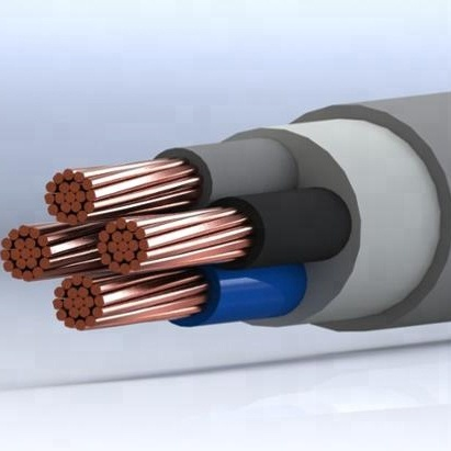 (High) 저 (quality PVC Insulated Multi-core Cable 와 구리 도전 체