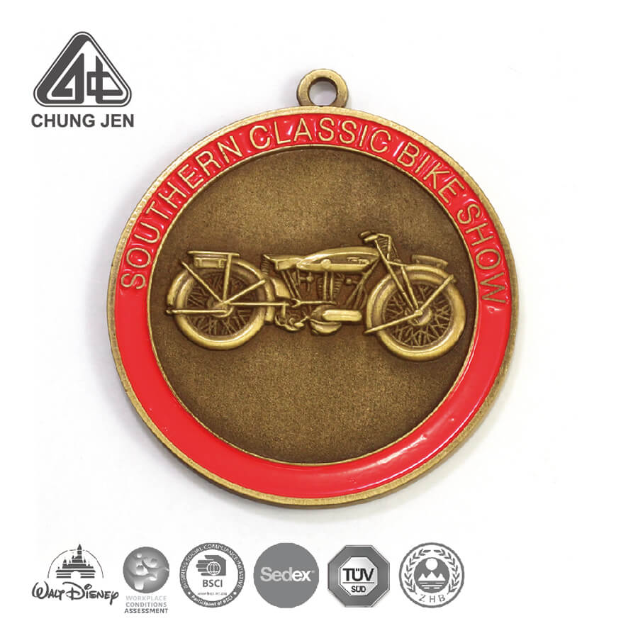 Southern Classic Bike Show Antique Bronze Medal