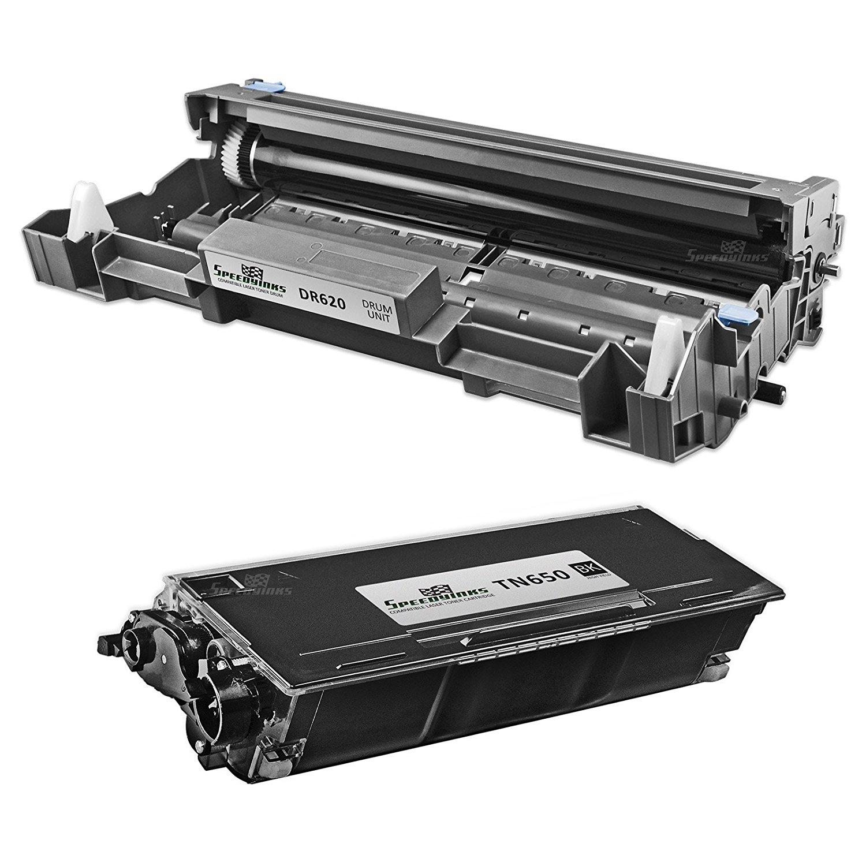 2PK Black Toner for TN-580 TN580//550 fits Brother HL-5240//5250DN//5280DW//MFC-8870