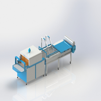 l バーシーラー半自動縮小機シュリンク包装機シュリンク包装機熱トンネル