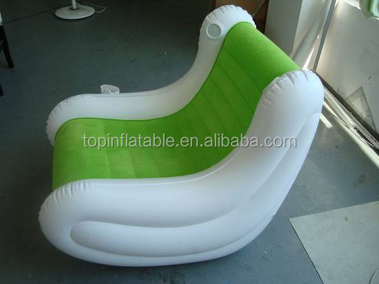 Custom wholesale large number of inflatable sofa chairs