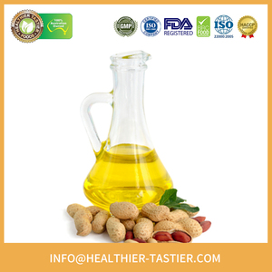 Certificated Mild Tasting Bulk Organic Cold Pressed Peanut Oil