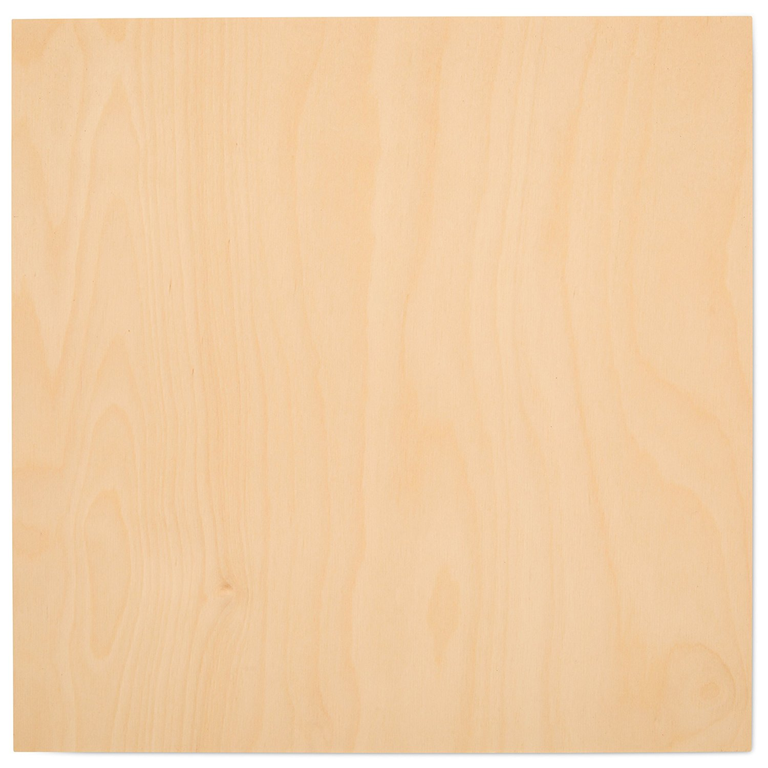 "3 mm 1/8"" X 12"" X 12"" Premium Baltic Birch Plywood – B/BB Grade - 8 Flat Sheets By Woodpeckers"