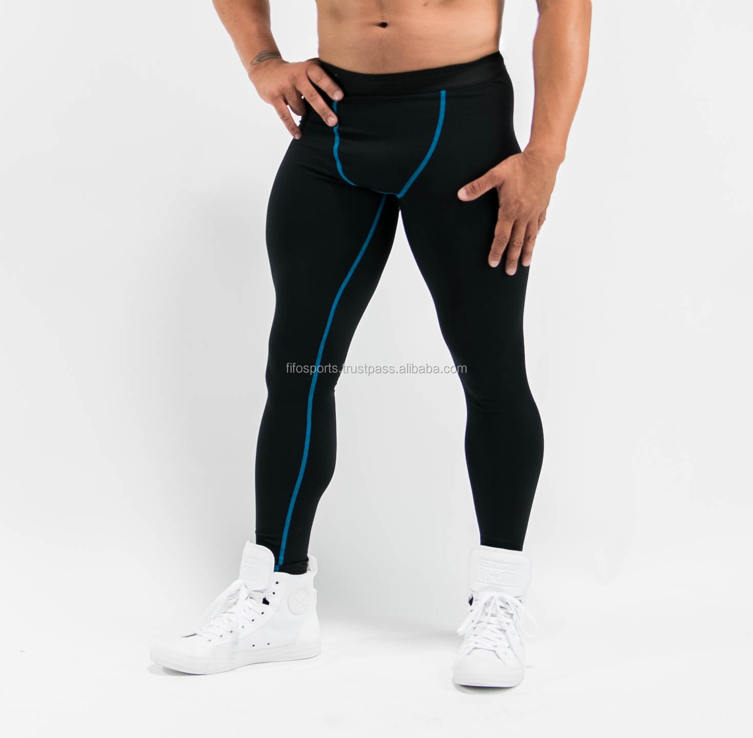 896c833051ea42 sublimated colorful mens sexy tight leggings / high waist yoga pants /  wholesale fitness athletic wear