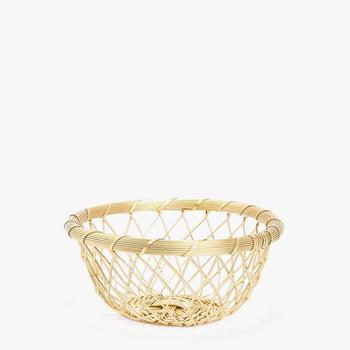 Gifting Purpose Empty Small Metal Wire Mesh Basket For Storage Buy Wire Mesh Storage Baskets Handmade Wire Basket Half Round Wire Hanging Baskets