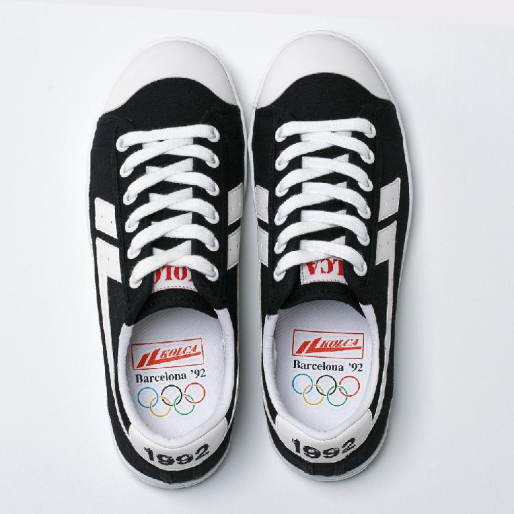 White fashion for printed Black shoes casual men Barcelona women KOLCA1992 men and Logo X76AX
