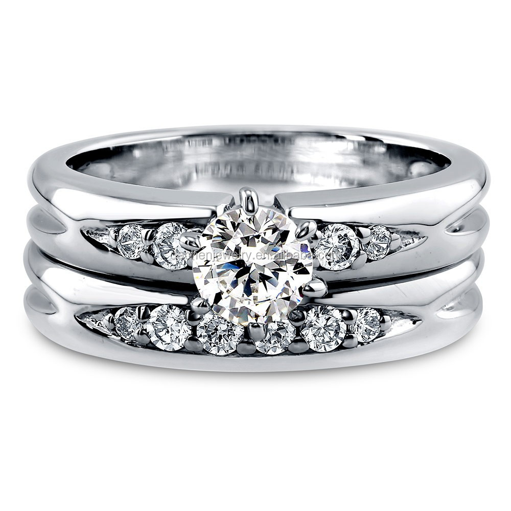men women wedding/engagement diamond rings diamond stretch wedding