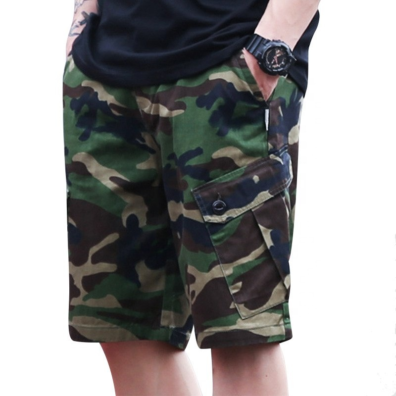OEM Shorts NEBEL zcasual military armee dropshipping Streetwear camo cargo short hose