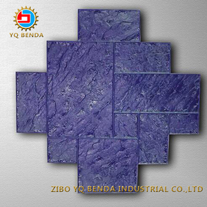 Rubber Mats Stamp Mapping Concrete Stamp Mould