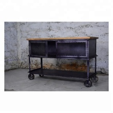 Armoire industrielle <span class=keywords><strong>de</strong></span> salon; meubles <span class=keywords><strong>de</strong></span> maison <span class=keywords><strong>en</strong></span> <span class=keywords><strong>bois</strong></span> Vintage