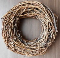 Grape Wood Wreaths for Decoration and Florists