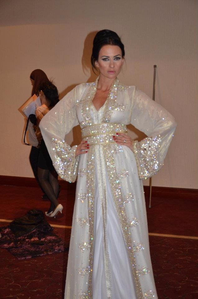 Vestiti Da Sposa Del Marocco.Abiti Da Matrimonio Marocchino Caftano Buy A Mano In Rilievo Da
