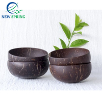 High Quality Vietnam Polished Coconut Oil For Daily Life Nice Eco Friendly Natural Coconut Bowl