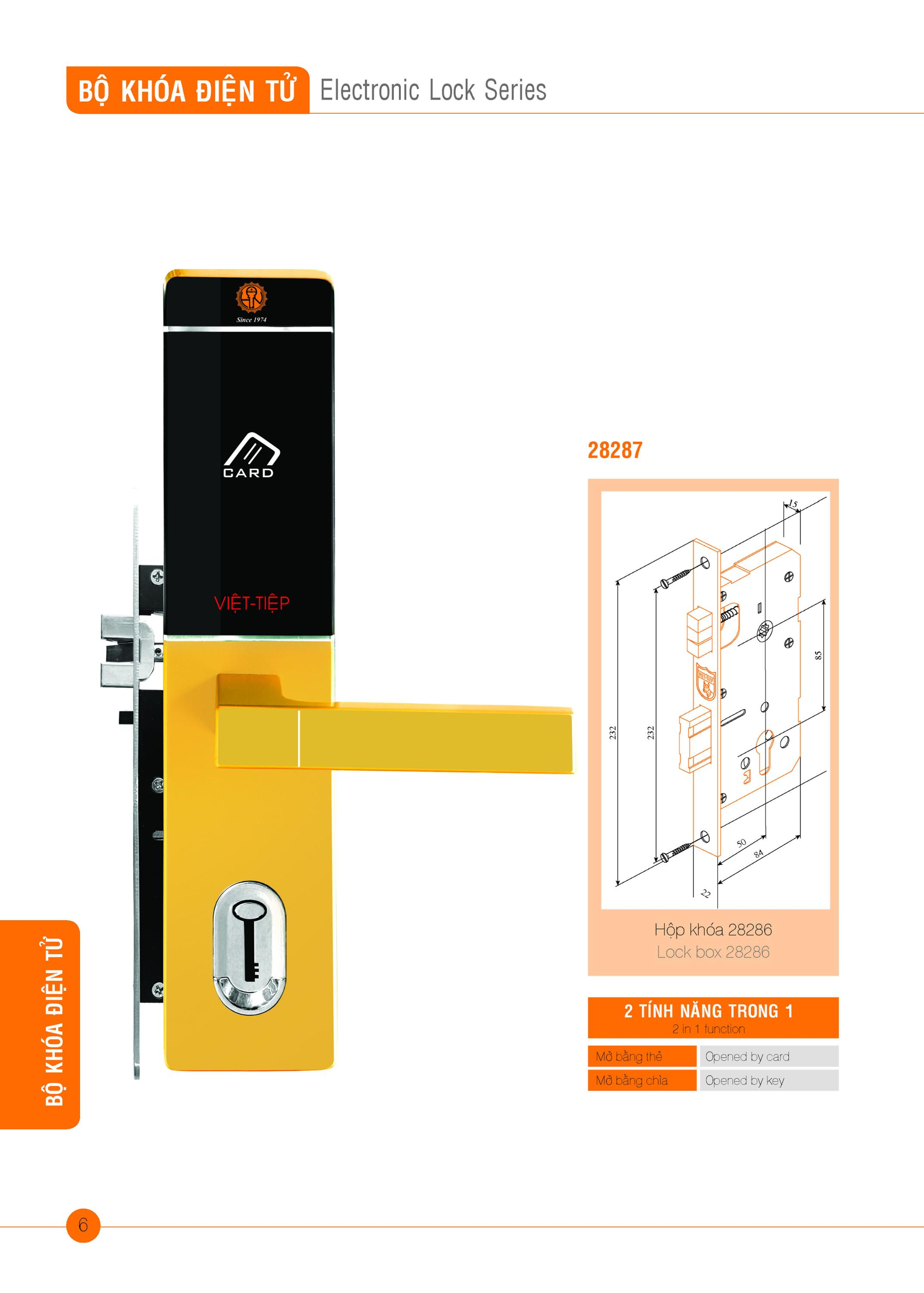 Electronic Lock series 2 in 1