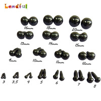 Handicraft Accessories Safety Black Plastic Eyes of Stuffed Toys