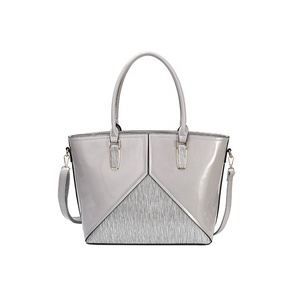 40d827690e1 guangzhou huadu shiling haiyang Leather Products Patent leather lady pars  bulk designer custom purses handbags