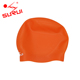 Original Factory Protect Hair Adult Funny Custom Logo Silicone Swim Cap with Thickened Seamless