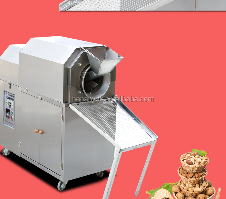 Commercial Gas Electric Chestnut Roasting Roaster Chestnut Roaster Machine LPG Fuel