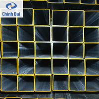 Galvanized Welded Rectangular / Square Steel Pipe / Tube / Hollow Section / SHS,RHS