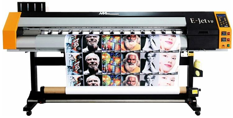 Dx5 Head Human Eco Solvent Printer 1 6m 1 8m Buy Human