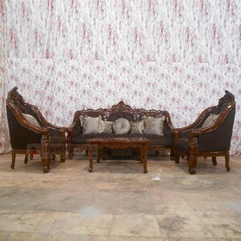 Classic Teak Sofa Set Indoor Furniture