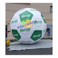 Inflatable Advertising Bubble Soccer Ball 4m