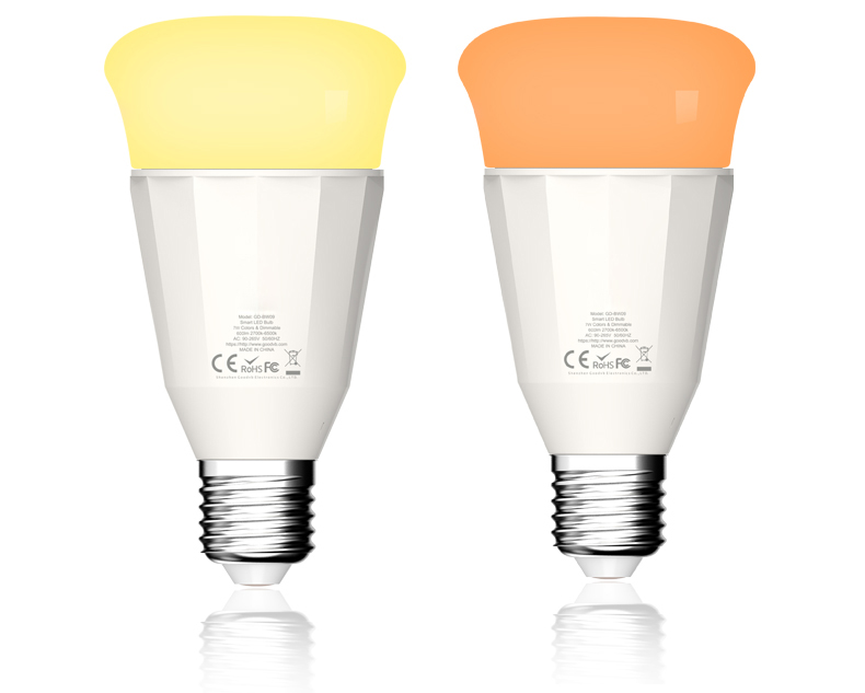 Multicolor Smart Bulb Alexa Zigbee 9W RGBW Color Bulb Changing LED Light Bulb <strong>E27</strong> for Home Automation