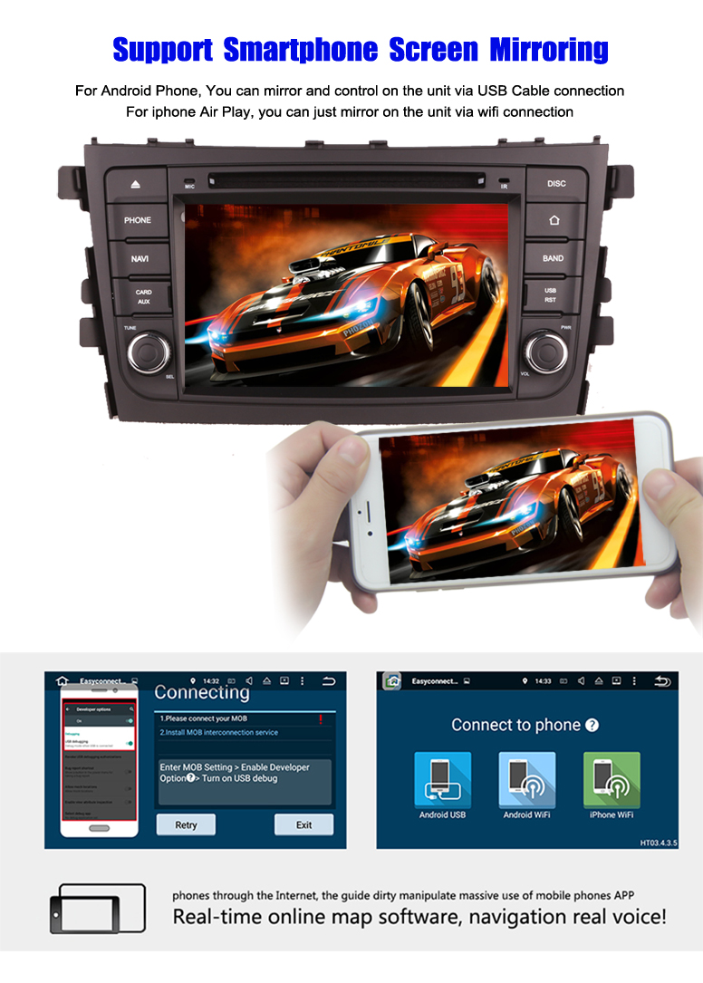 car player for Suzuki Alto