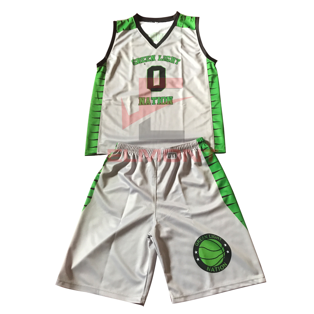 Fabrik Lieferant Durable Basketball Uniform