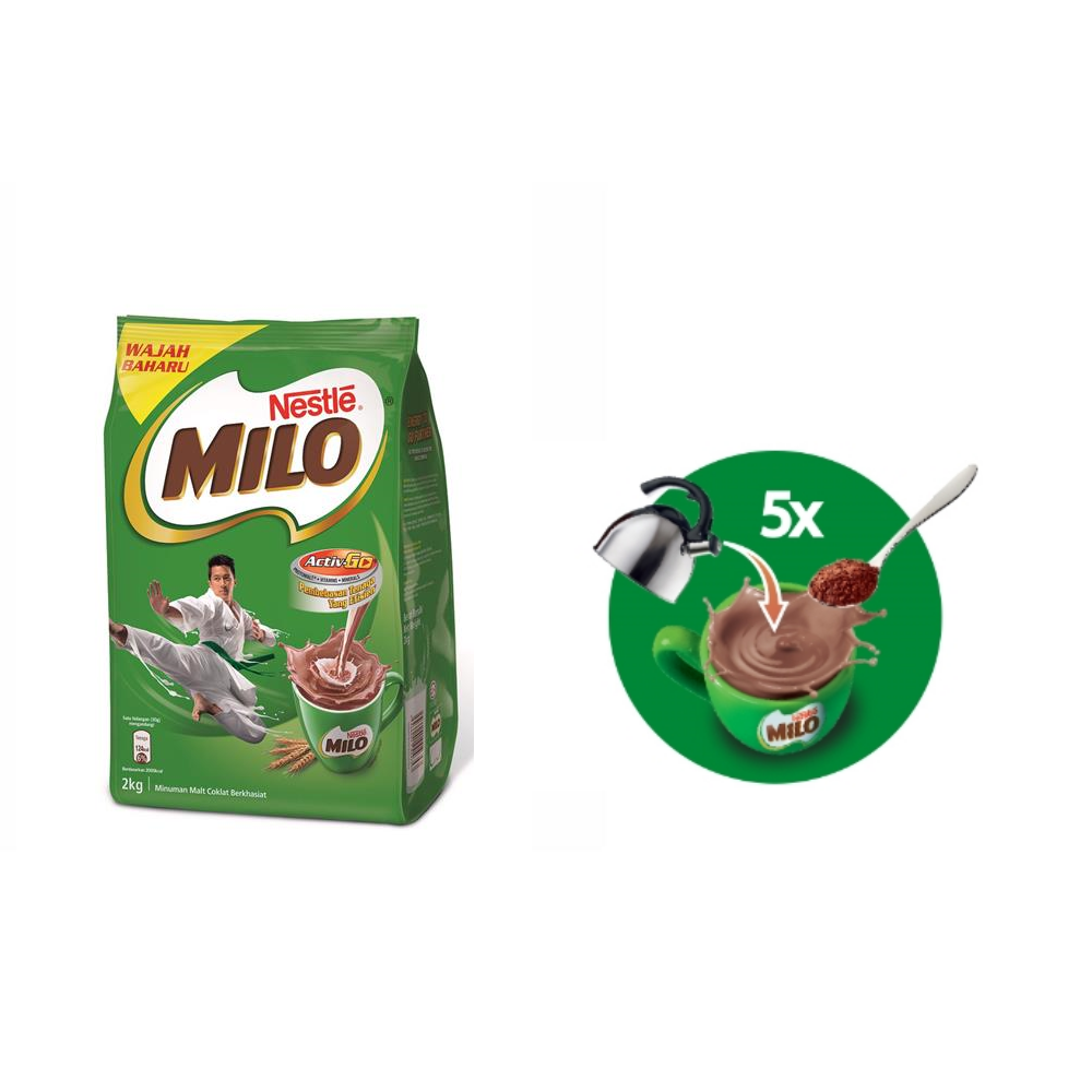 Malaysia Milo Powder Manufacturers And Active Go 1kg 1 Kg Suppliers On