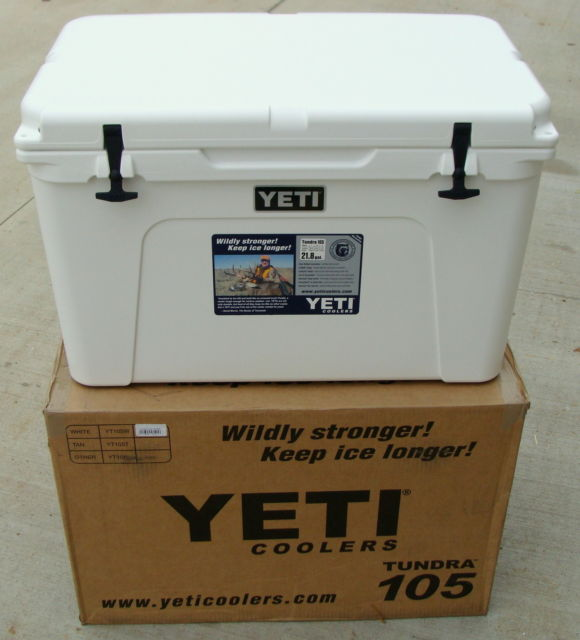 ALL NEW DISCOUNT Yetys Tundra105 Cooler With Free T Shirt And Bags