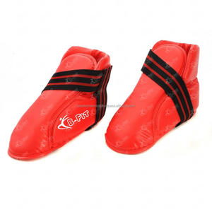Super Quality Red Synthetic Leather Boxing Shoes