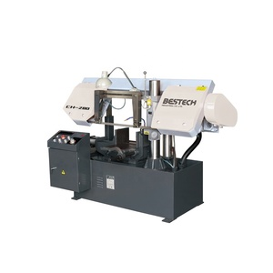Cheap price semi-automatic bi-metal cutting band-saw blade machine CH280