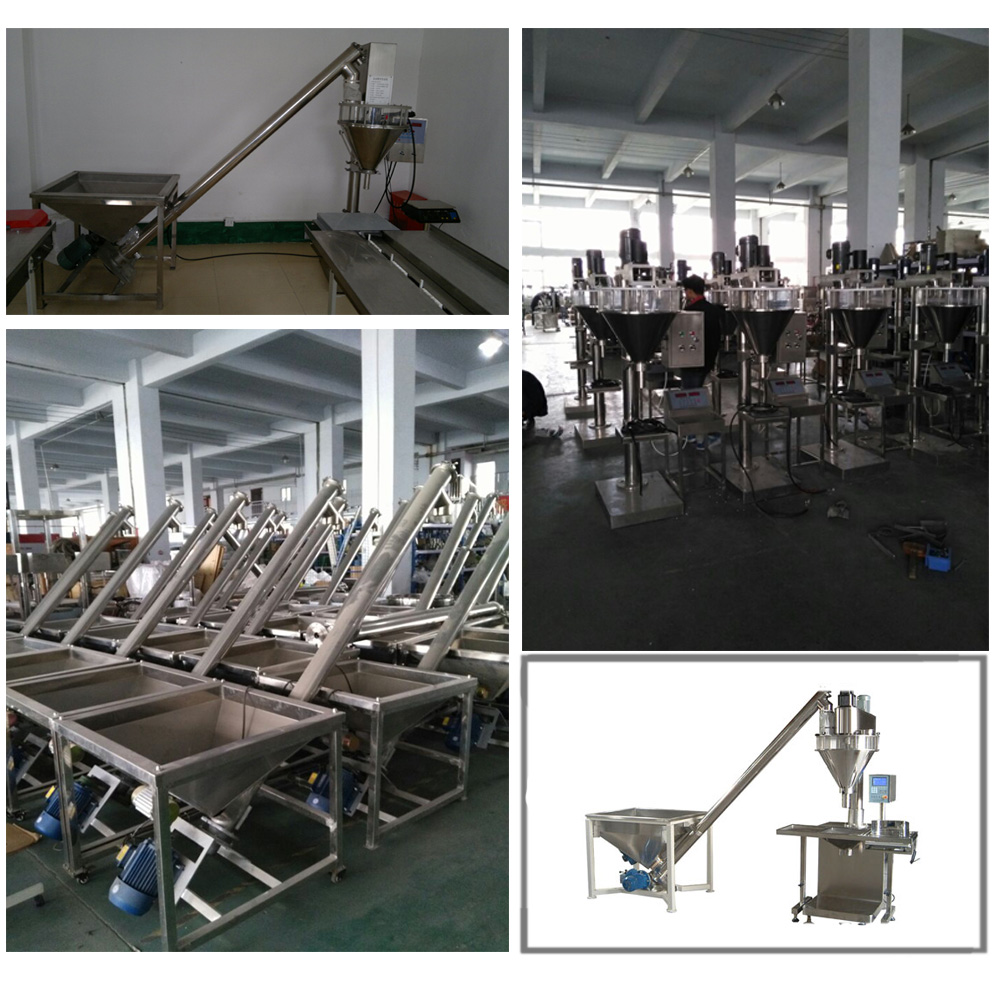Bag Can Filling Machinery Detergent Milk Powder Packing Machine for Spices Coffee