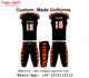 Football Team Top Jersey Uniforms Youth & Adult sizes Custom Made wholesale Football Uniform