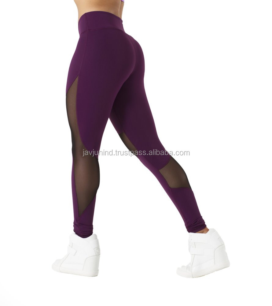 High Quality Fitness Slim Women's Tights/ Latest Sports Yoga Legging