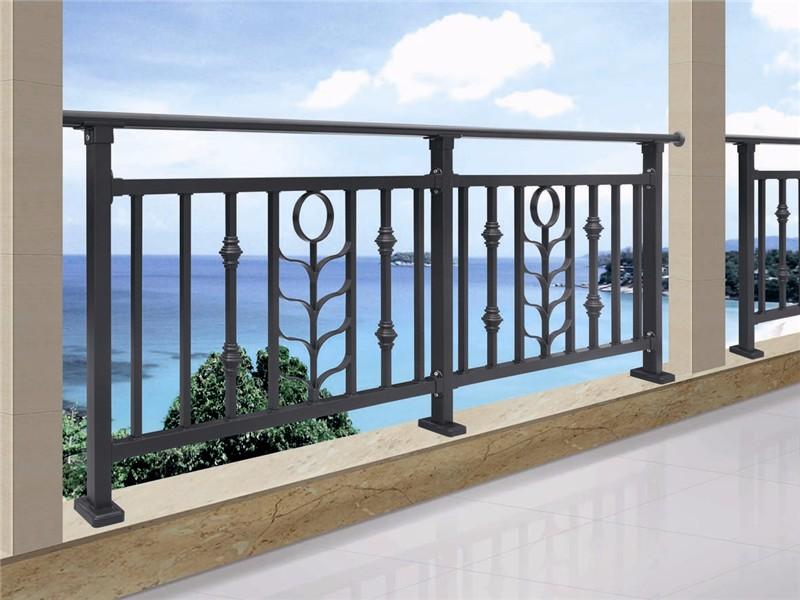 Classic Design Black Terrace Railing Designs Balcony - Buy ...