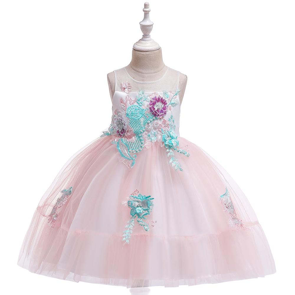 kinder kleid design party kleider mädchen geburtstag hochzeit appliqued  blume kinder schöne kleid l5139 - buy kinder kleider,kinder kleidung  mädchen