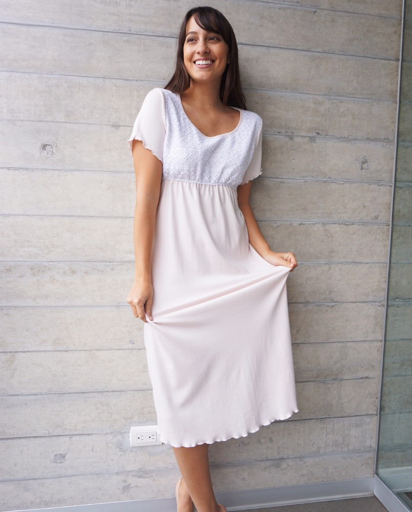 Perfect Cotton Night Gowns Frieze - Ball Gown Wedding Dresses ...