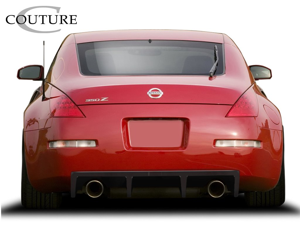 Get Quotations · 2003 2008 Nissan 350Z Duraflex Vortex Rear Diffuser   1  Piece