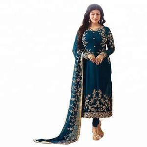 Anarkali Suit / Anarkali Suits Dresses / Hand Work Anarkali Salwar Kameez  (Salwar And Kameez)