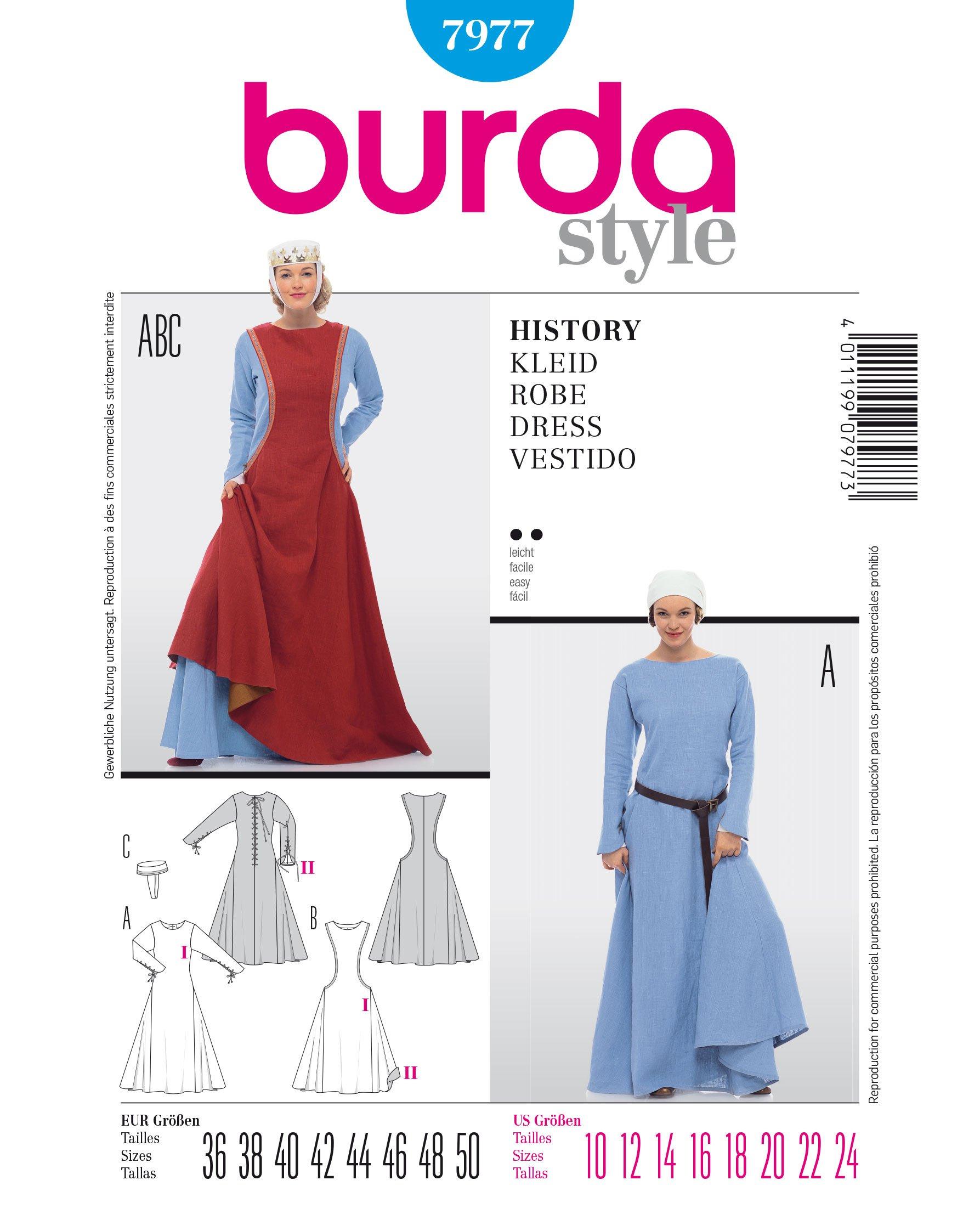 Mozart Prince Revolutionary Size 6 to 12 Burda 2461 Boys Costume Pattern Burda 2461 New Costume Child Pattern