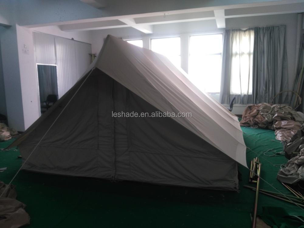 100% cotton canvas scout patrol tent : canvas scout tent - memphite.com