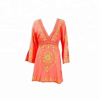 27e5c0221bdd8 New Arrival Hot Sale vintage 70s Mexican Ethnic Elegant EMBROIDERED BOHO  Hippie blouses casual tunic