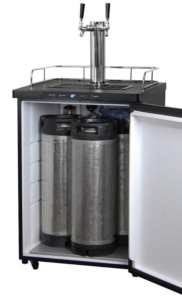 Double Taps Beer Kegerator Beer Dispenser Beer Cooler Kegerator