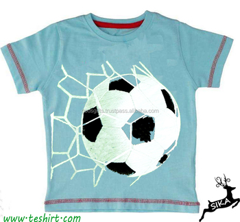 453849f01 OEM service raglan shirts baby girl football print t shirts multicolor  Wholesale girls top designs