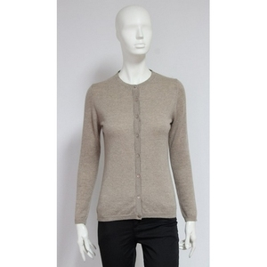 Cashmere blends cardigan buttoned wholesale italian fashion knitwear - Made in Italy clothing