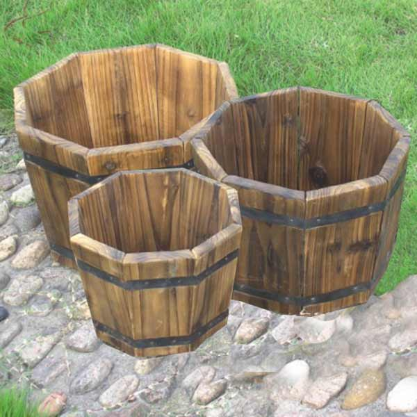 Wooden Flower Pot Box Planter Oem Timber Pot Buy Timber Planter