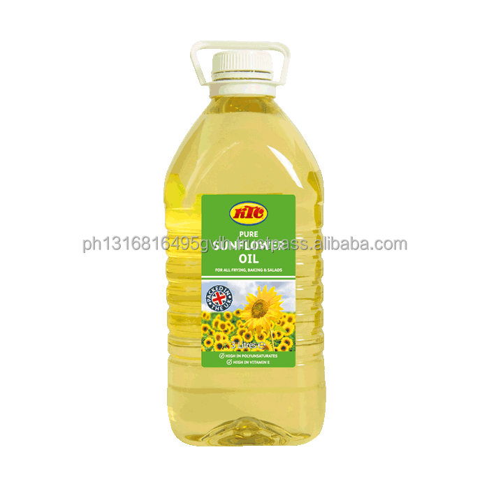 Refined OEM Sunflower cooking oil / OEM Sunflower oil manufacturers
